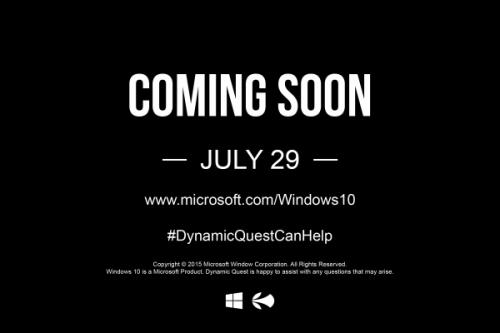 Microsoft Windows 10 - Dynamic Quest